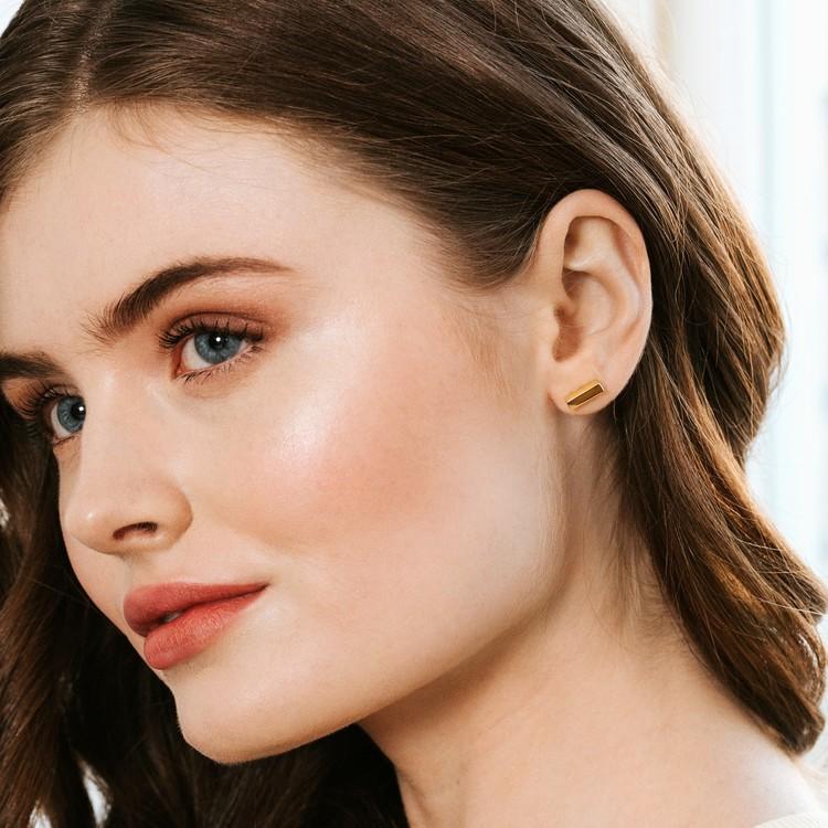 Minimalistiska örhängen