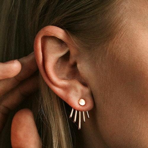 Twisted örhängen