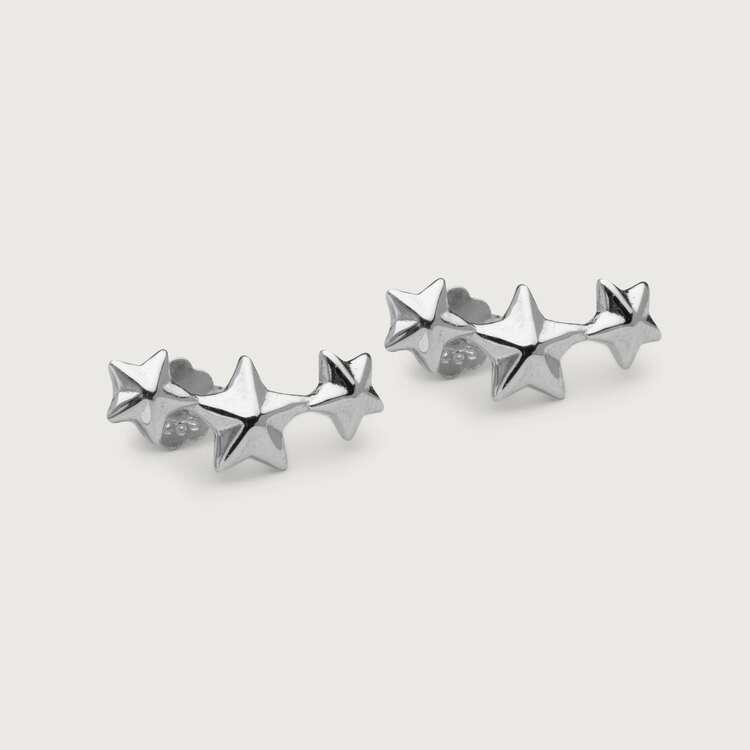 Stardust örhängen silver