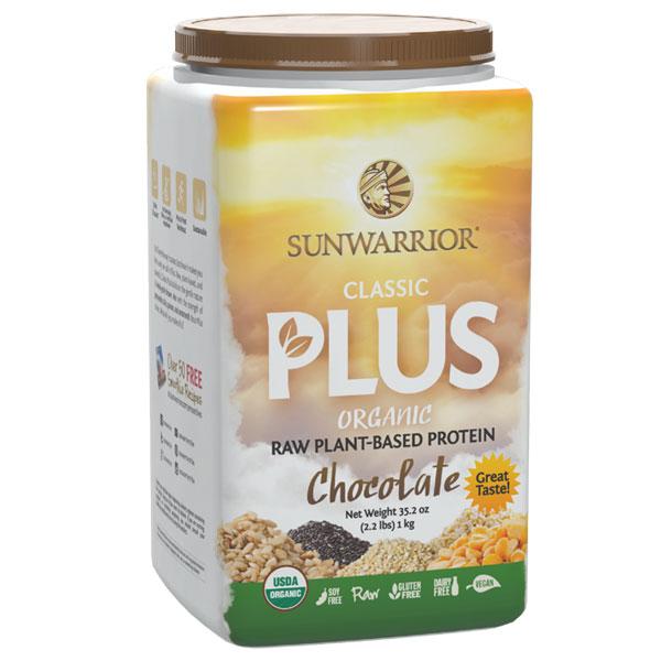 Sunwarrior Classic Plus 750 gram EKO Choklad