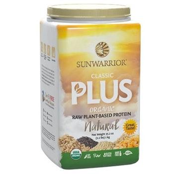 Sunwarrior Classic Plus Organic Natural Proteinpulver 750 gram