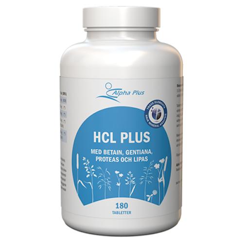 HCL plus 180 tabletter