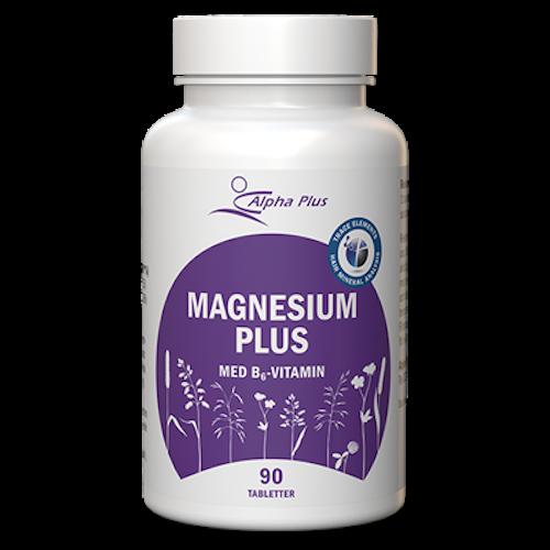 Magnesium Plus 90 tabletter Alpha Plus
