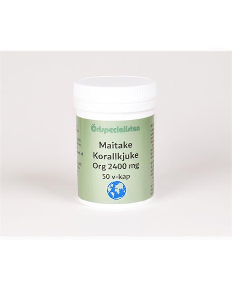 Maitake 2400 mg 50 kapslar Örtspecialisten