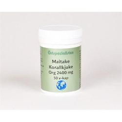 Maitake Org 2400 mg 50 kapslar