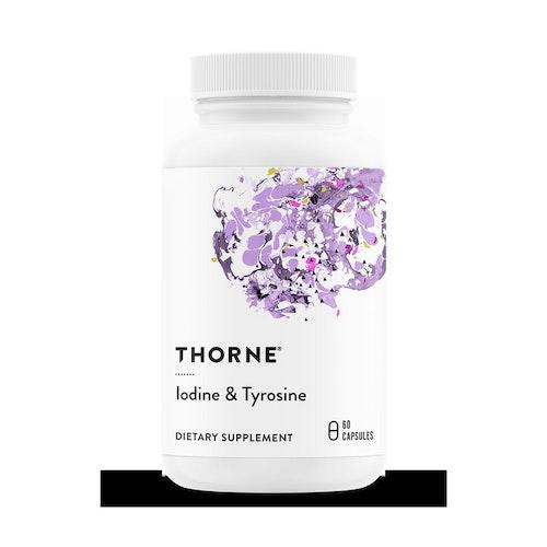 Jod & Tyrosin (Iodine & Tyrosine) 60 kapslar