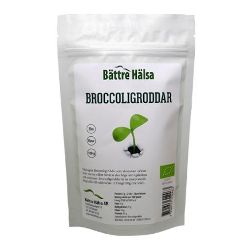 Broccoligroddar EKO 100g