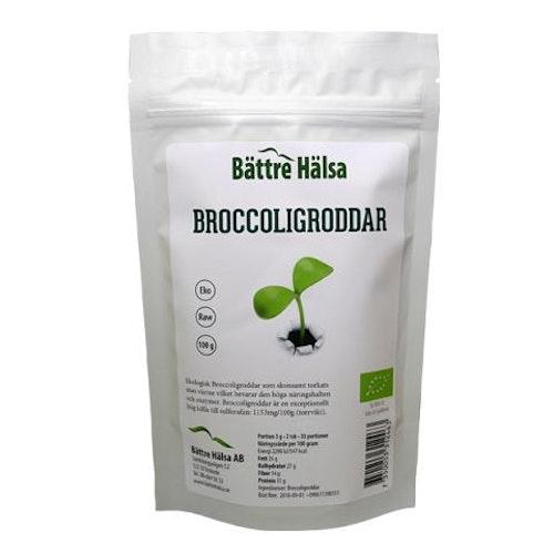 Broccoligroddar Ekologiskt 100 gram Bättre Hälsa