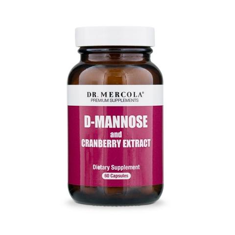D-mannose 60 kapslar Dr. Mercola