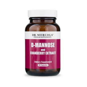 D-mannose and cranberry extract 60 kapslar