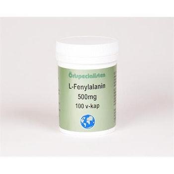 L-Fenylalanin 500mg 100 kapslar