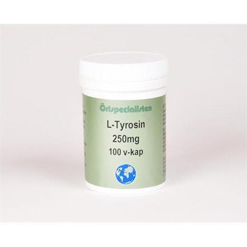 L-Tyrosin 250mg 100 kapslar