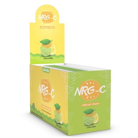 NRG-C citron & lime 30 påsar