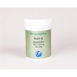 Rutin och Quercitin 100+100mg 50 kapslar