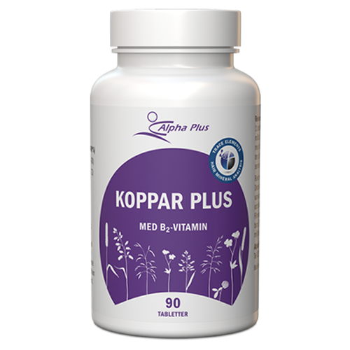 Koppar Plus 90 tabletter