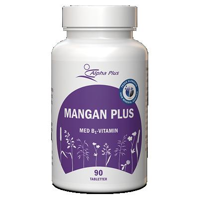 Mangan Plus 90 tabletter Alpha Plus