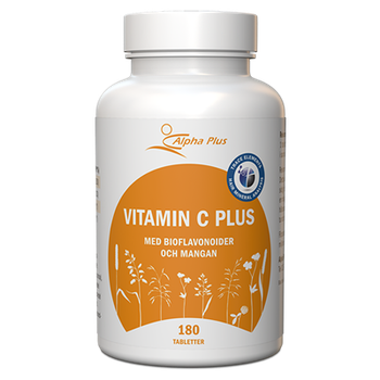 Vitamin C Plus 180 tabletter
