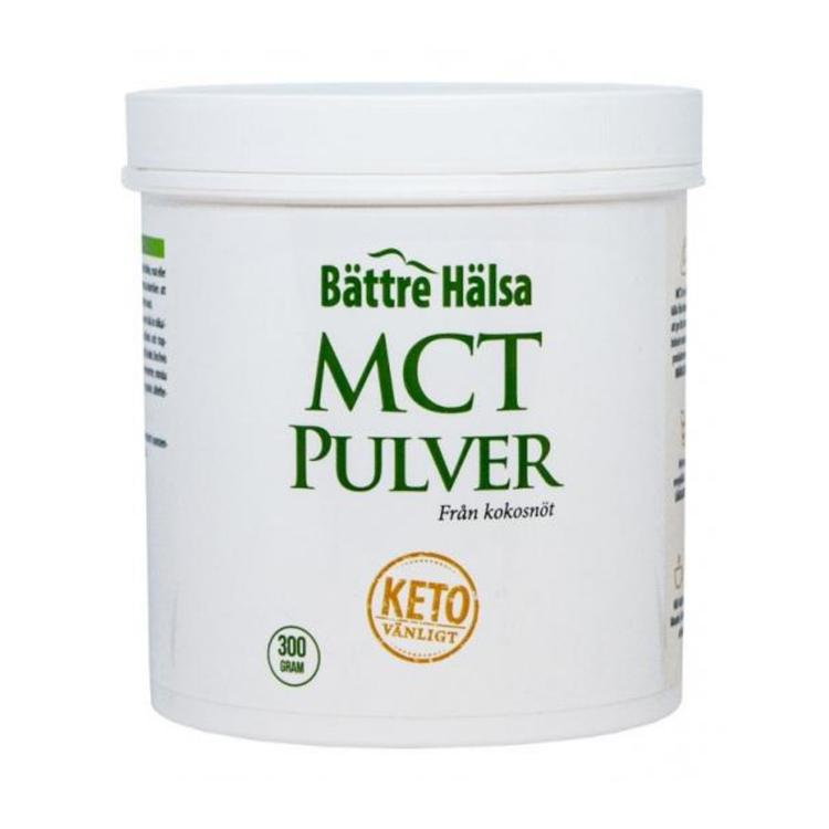 MCT Pulver 300 gram Bättre Hälsa