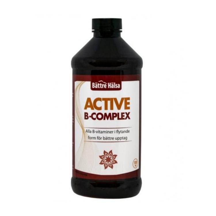 Active B-Complex 500 ml Bättre Hälsa