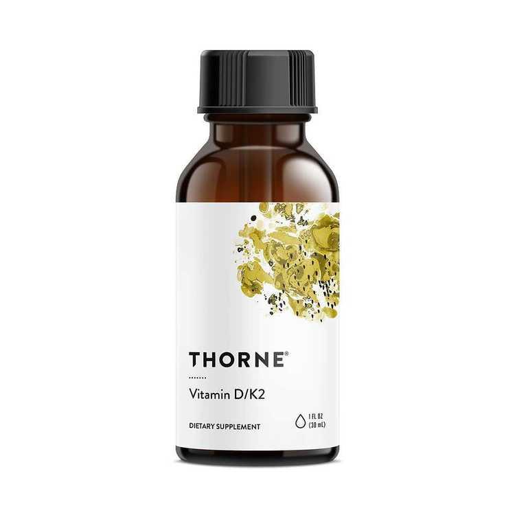 Vitamin D/K2 30 ml Thorne