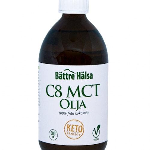 C8 MCT Olja 500 ml