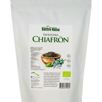Chiafrön Ekologiska 500 gram