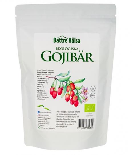 Ekologiska Gojibär 250 gram