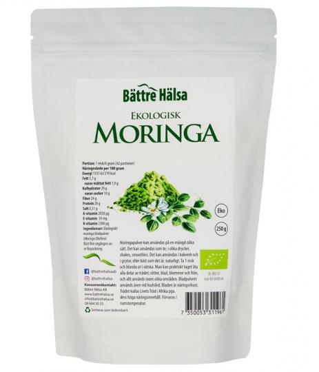 Ekologisk Moringa 250 gram