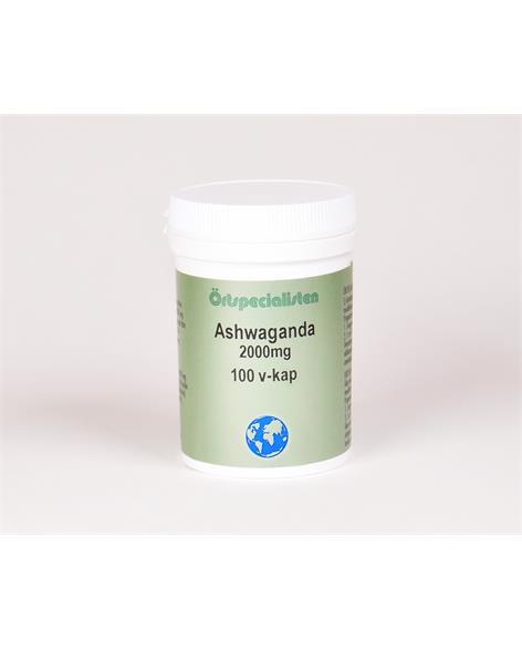 Ashwaganda 2000 mg 100 kapslar Örtspecialisten