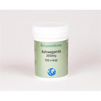 Ashwaganda 2000 mg 100 kapslar