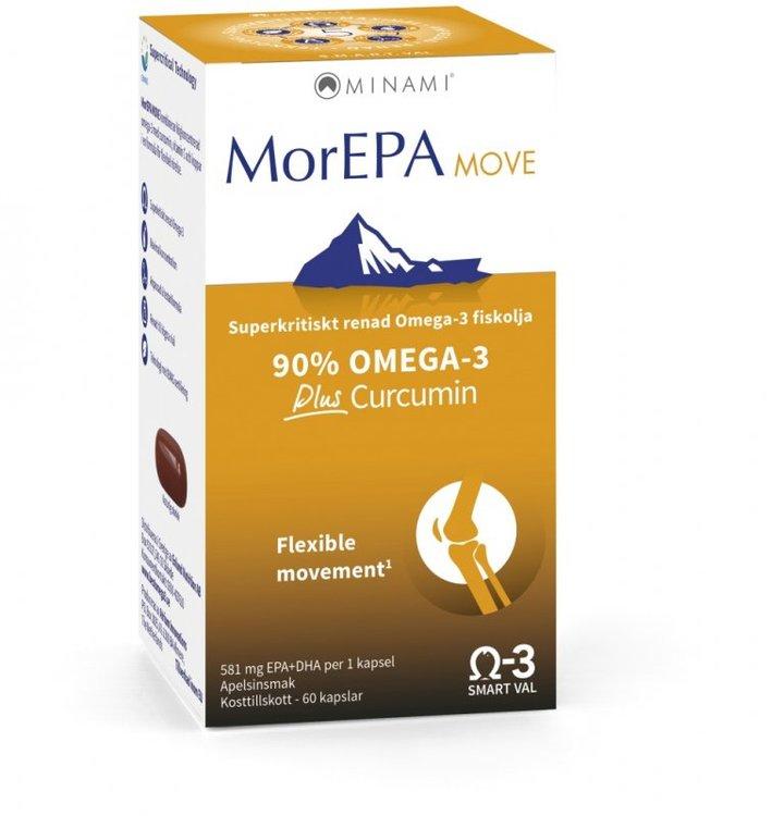 MorEPA Move Omega-3 581 mg 60 kapslar