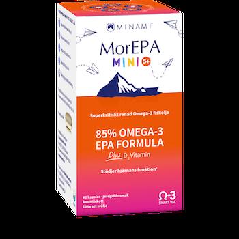 MorEPA MINI Omega-3 60 kapslar