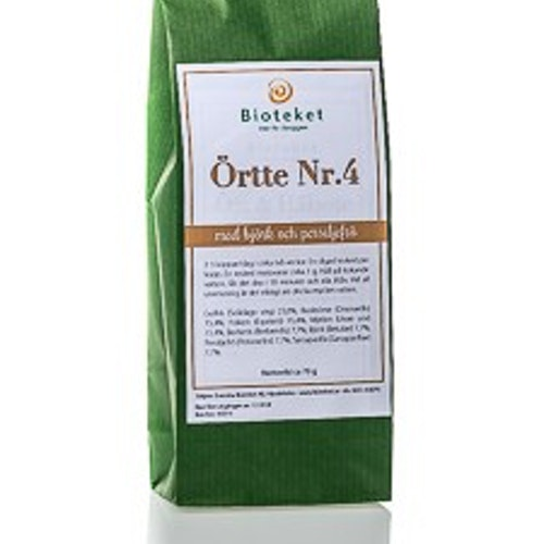 ÖRTTE NR 4 Urin- & Njurvägar 70 gram