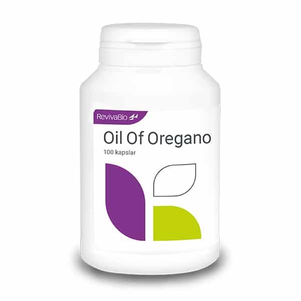Oil of Oregano 100 kapslar RevivaBio