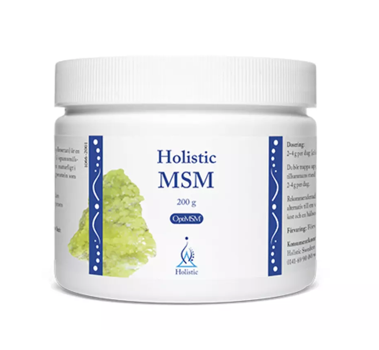 MSM 200 gram Holistic