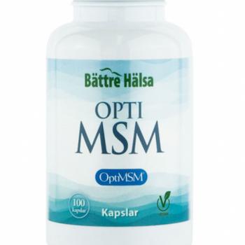 OptiMSM 100 kapslar Bättre Hälsa