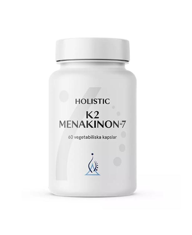 K2 Menakinon-7 60 kapslar Holistic