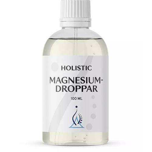 Magnesiumdroppar 100 ml Holistic