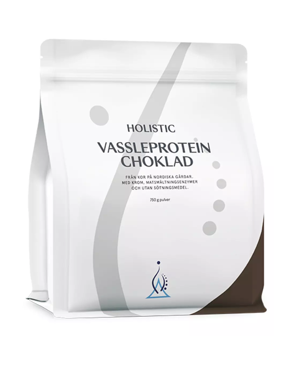 Vassleprotein choklad 750 gram Holistic