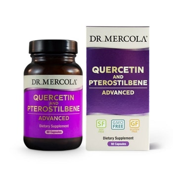 Quercetin och Pterostilben 60 kapslar Dr. Mercola