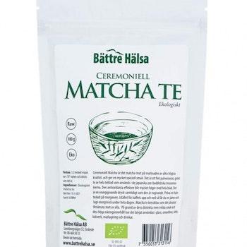 Matcha Te Ekologiskt 100 gram Bättre Hälsa