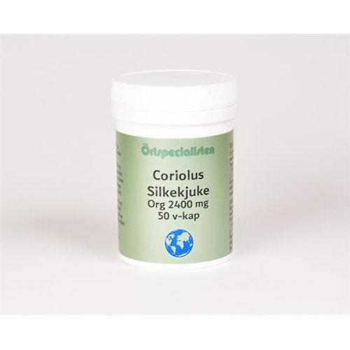 Coriolus Org 2400 mg 50 kapslar Örtspecialisten