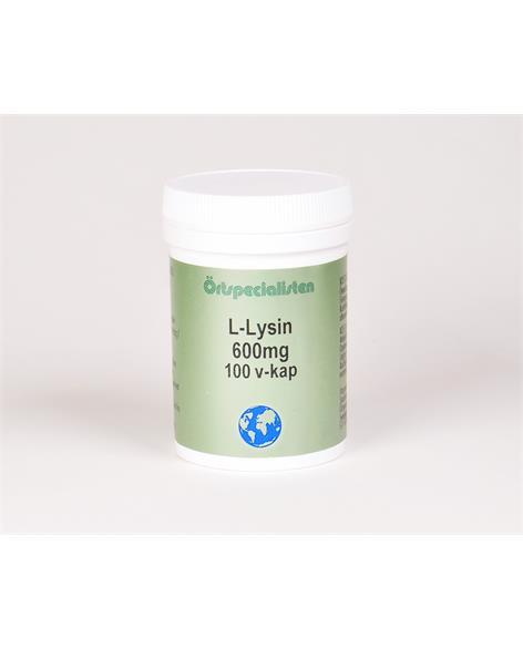 L-Lysin 600 mg 100 kapslar Örtspecialisten