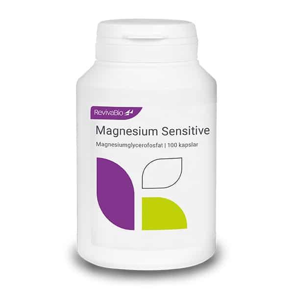 Magnesium Sensitive 100 kapslar Reviva Bio