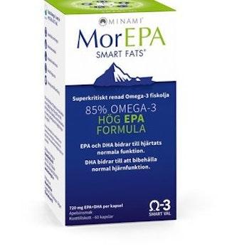 MorEPA Smart Fats 720 mg 60 kapslar