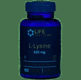 L-lysine 620 mg 100 kapslar Life Extension