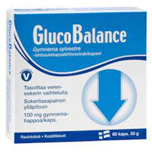 GlucoBalance 33 g 60 kapslar