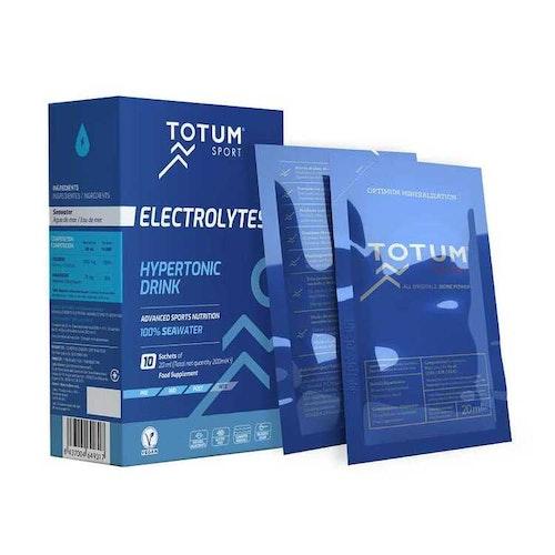 Electrolytes Hypertonic Drink 10x20 ml Totum Sport