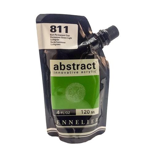 Akrylfärg Sennelier Abstract - Hög pigmentering - Hookers Green 809