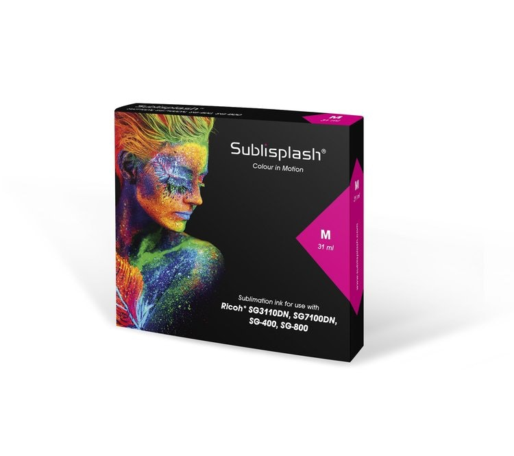 Sublisplash® ink SG 3110DN/7100DN, SG 400/800, 31/44 ml